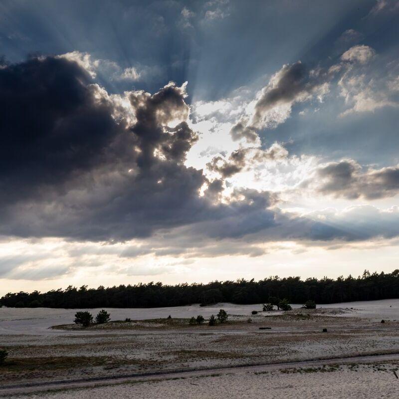 <strong>Wolkenlucht Zandverstuiving (Beekhuizerzand Harderwijk)</strong>